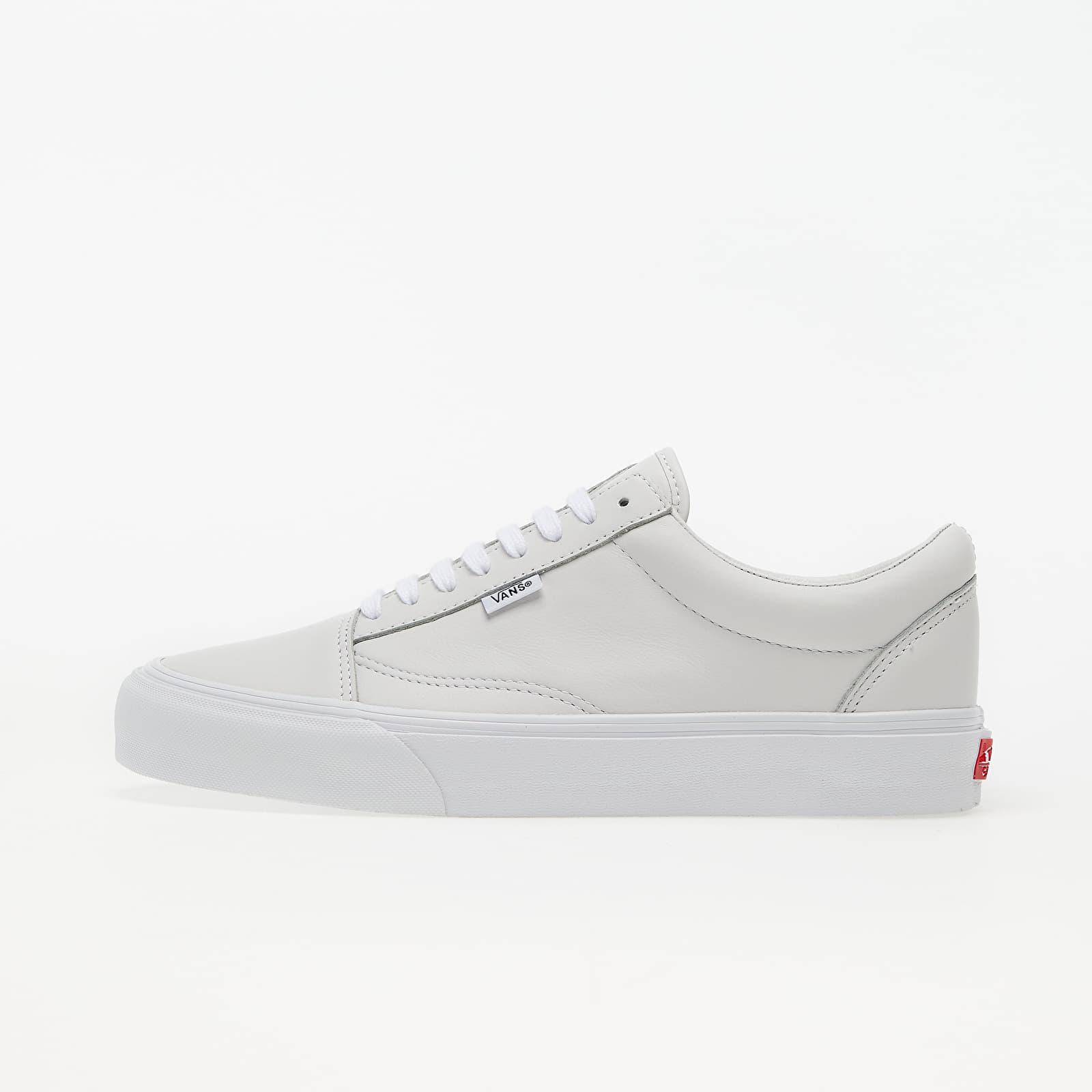Vans Vault Old Skool NS VLT LX (Leather) True White EUR 40.5
