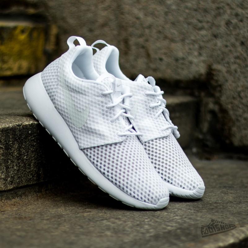 new arrival 5d6eb aa052 Nike Roshe One BR White White
