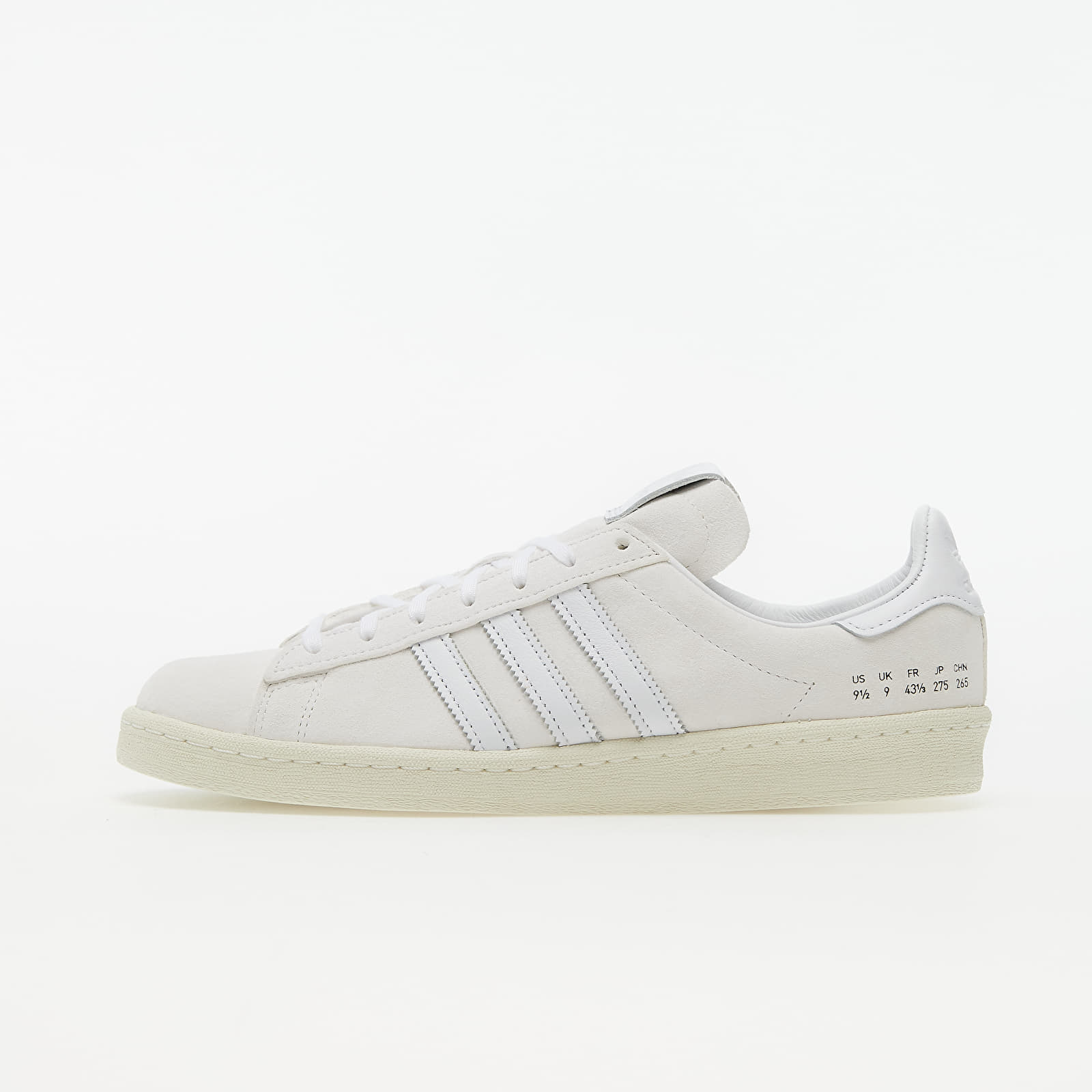 adidas Campus 80S Supplier Colour/ Ftwr White/ Off White EUR 41 1/3