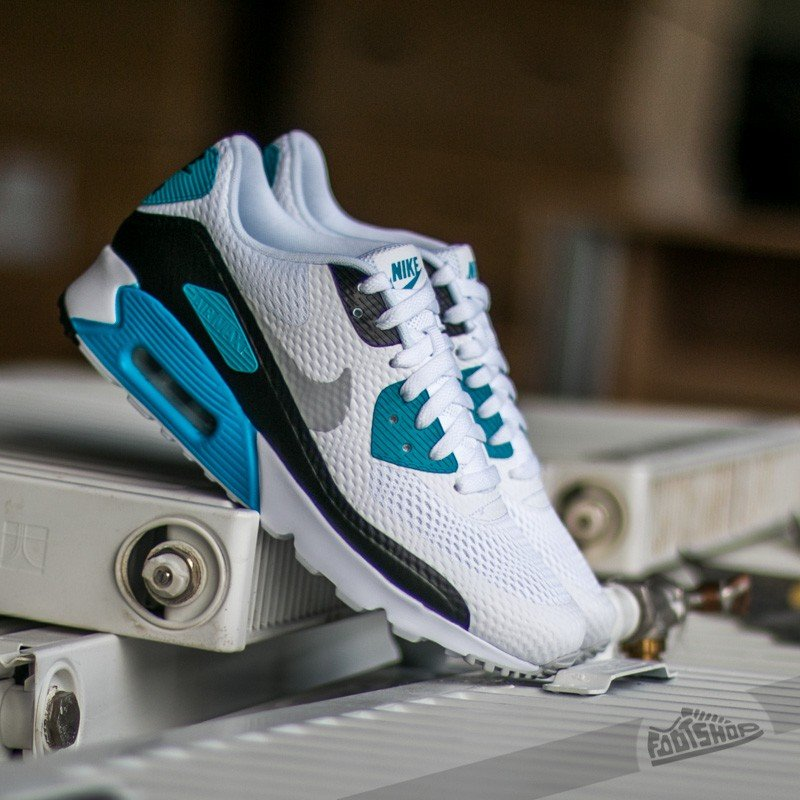 b017a1b5de4 Nike Air Max 90 Ultra Essential White  Neutral-Grey-Laser  Blue-Black