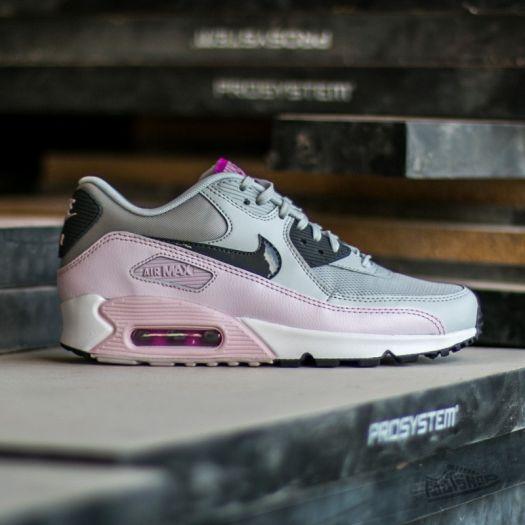Nike Wmns Air Max 90 Essential Pure Platinum Dark Grey