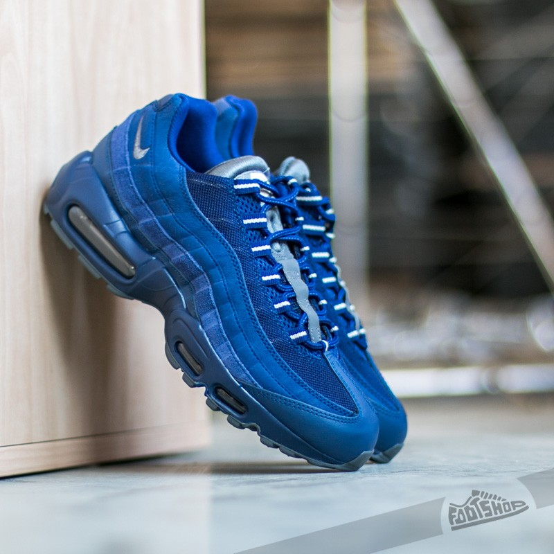 promo code 6ca0c baca0 Nike Air Max 95 Essential Loyal Blue  Dark Grey-Light Bone