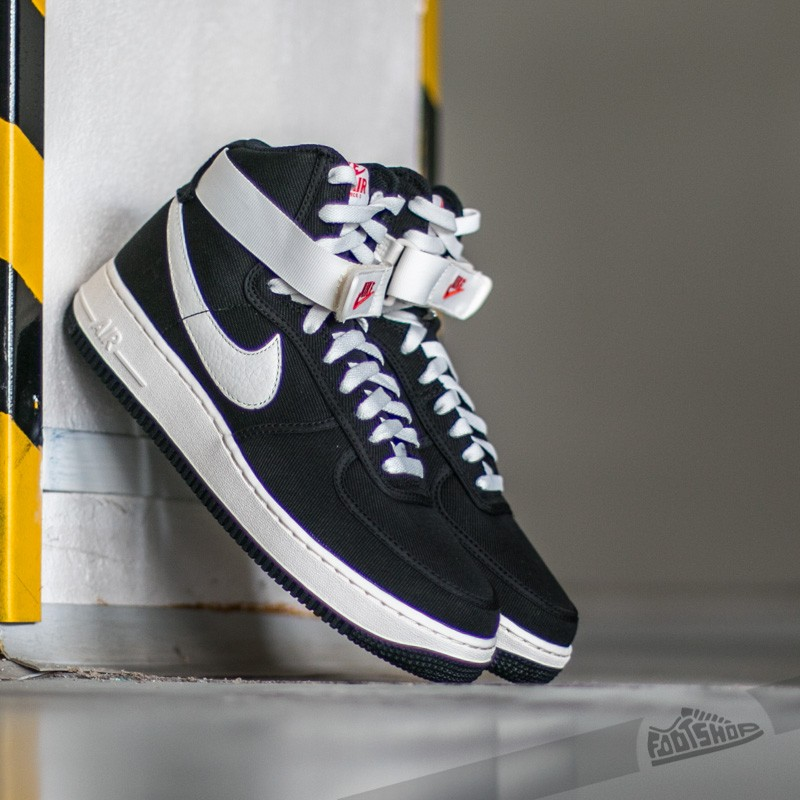 sports shoes 75ba2 efdea Nike Air Force 1 High Retro Black  Sail