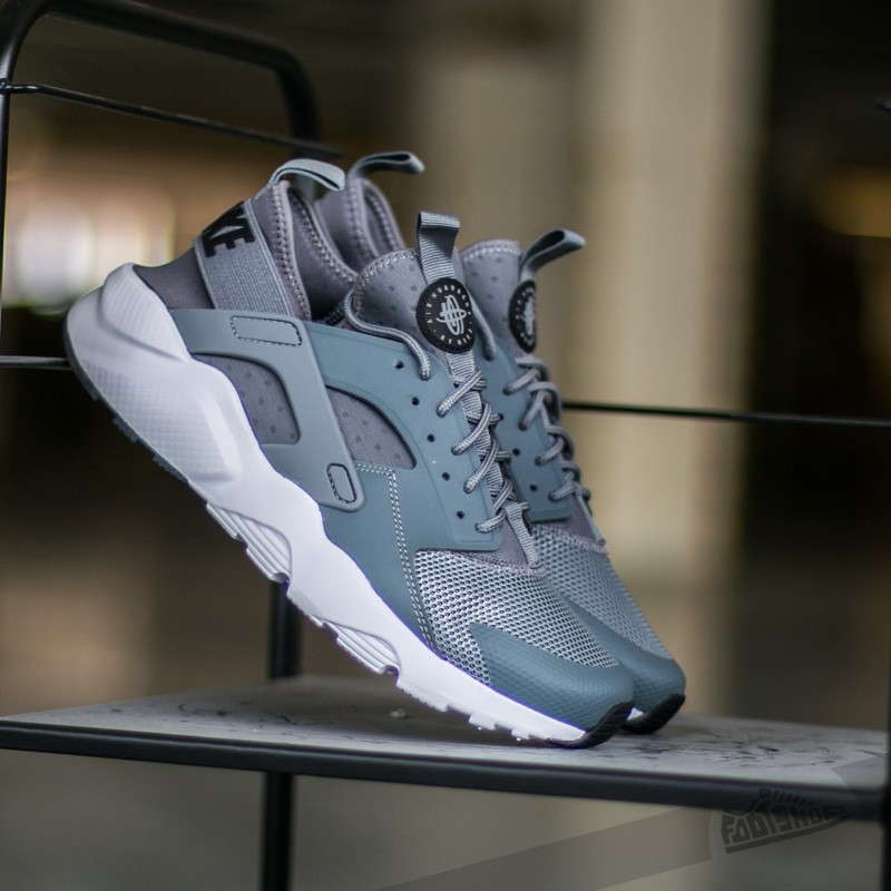 b47d4ebf27a49 Nike Air Huarache Run Ultra Cool Grey  Black-White