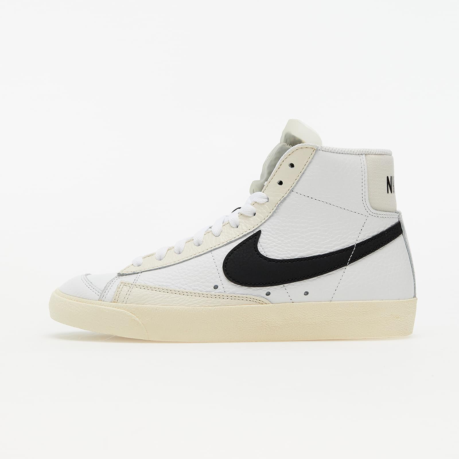 Nike Blazer Mid '77 Summit White/ Black-Pale Ivory-Beach EUR 36