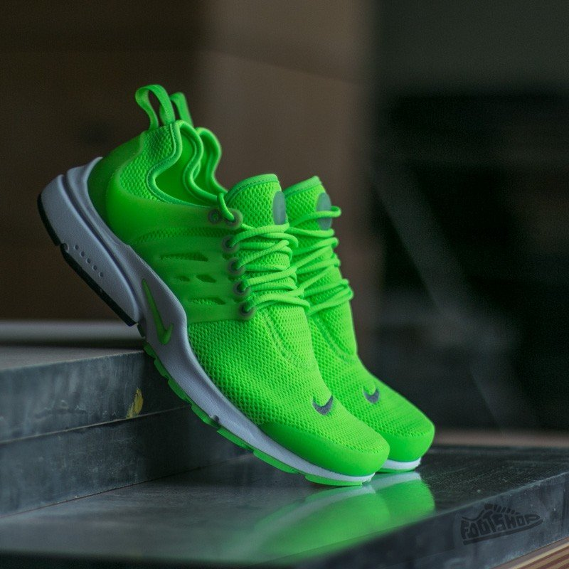 the best attitude 1d90c 733aa Nike Wmns Air Presto Electric Green Electric Green - White