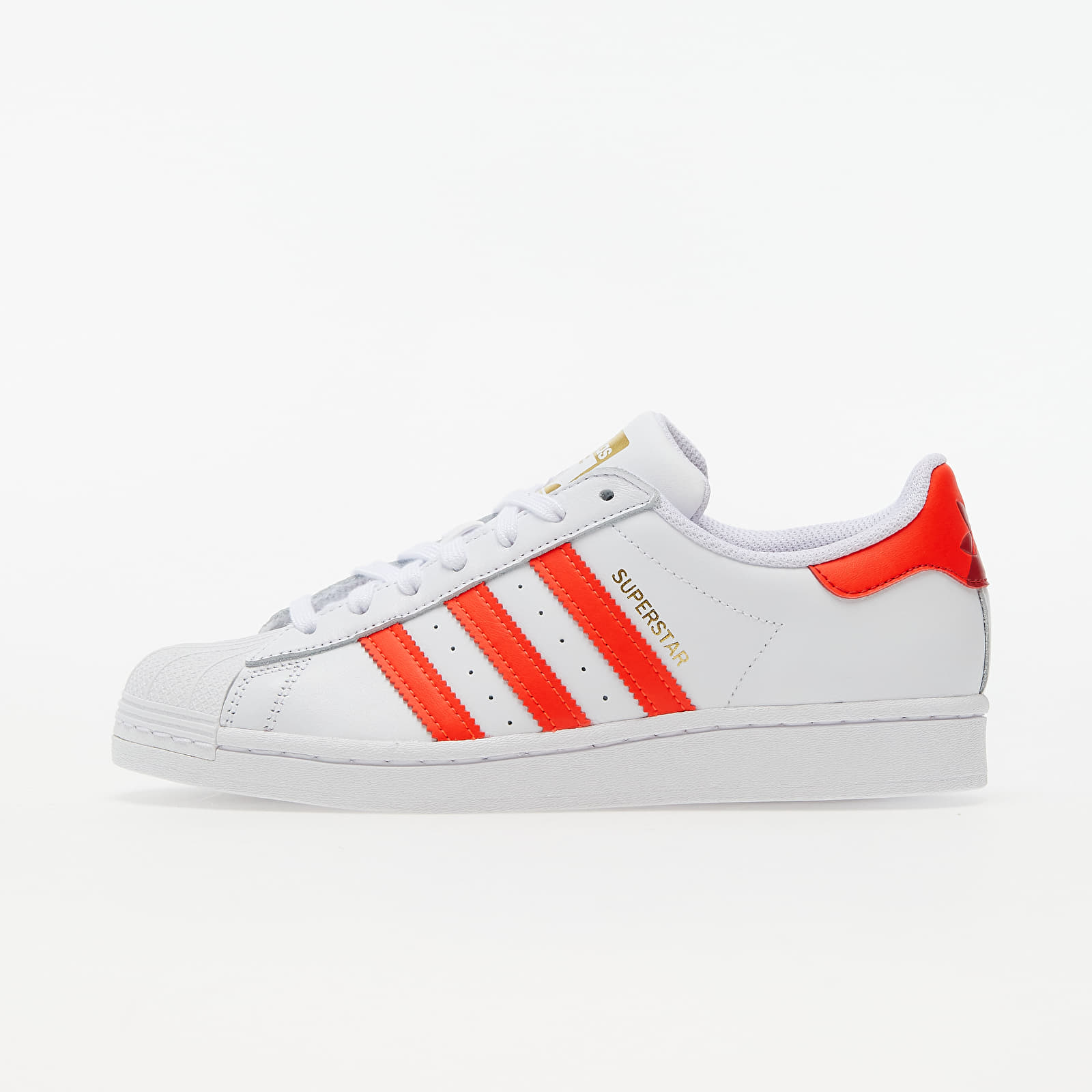 adidas Superstar W Ftw White/ Solar Red/ Scarlet EUR 39 1/3