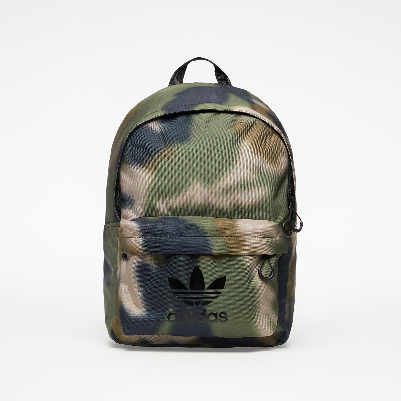 adidas Camo Classic Backpack Hemp/ Wild Pine/ Black 24,5 litra