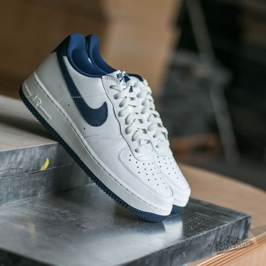 Nike Air Force 1 Low Nai KE QS Summit White Midnight Navy