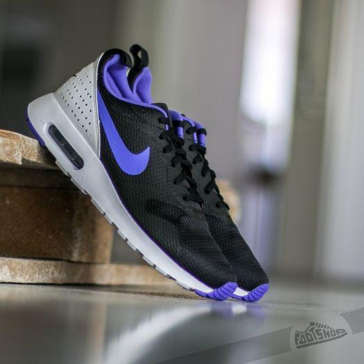 Nike Air Max Tavas Black Persian Violet White | Footshop