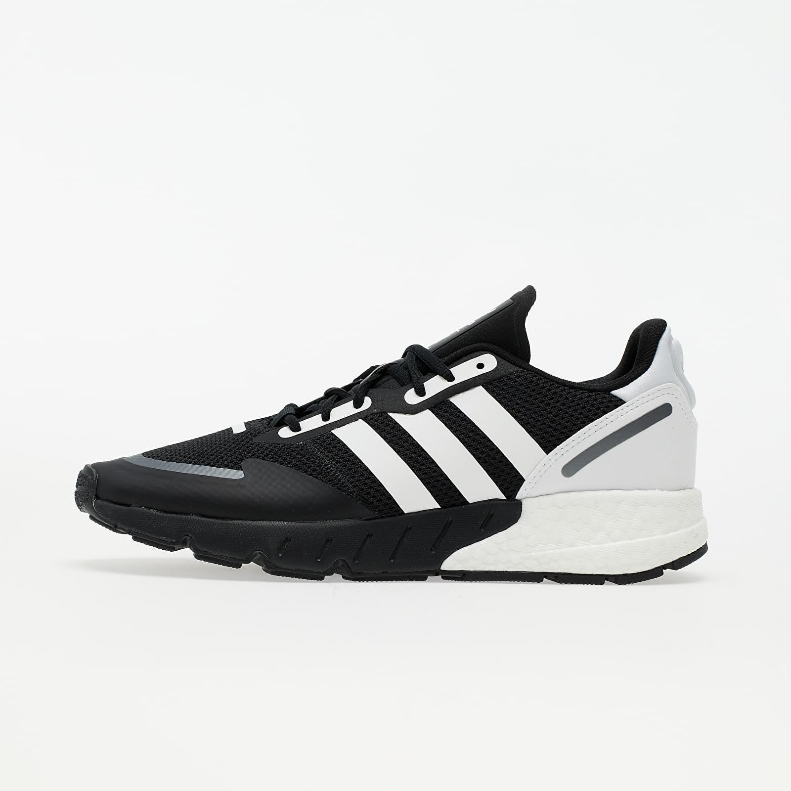adidas ZX 1K BOOST Core Black/ Ftwr White/ Black Silver Met. EUR 42