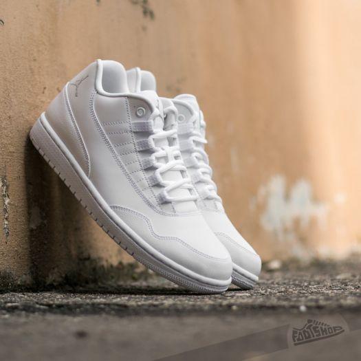 Mañana misil plato  Men's shoes Jordan Executive Low White/ Wolf Grey - White   Footshop