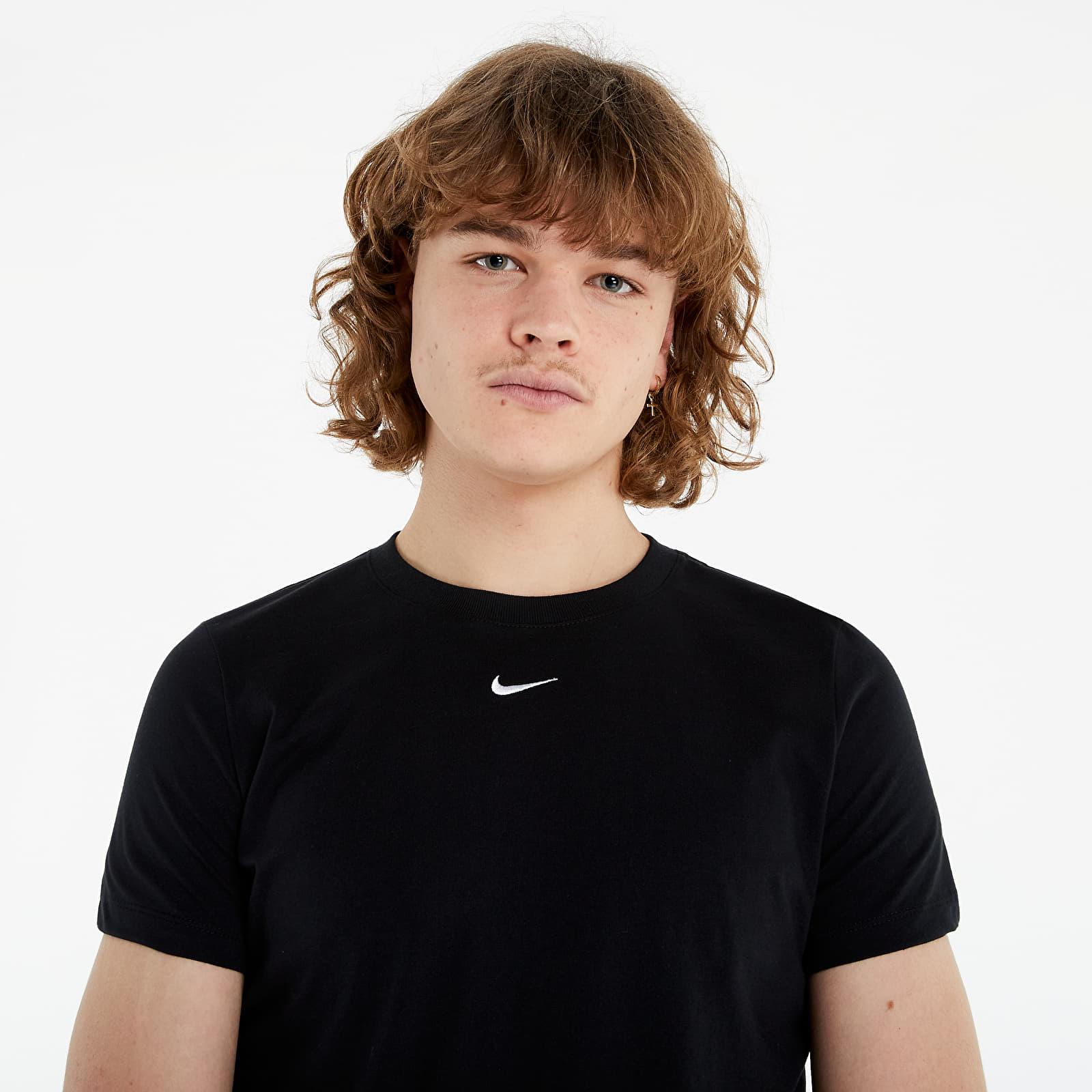 Nike Sportswear Essential Tee Crew Lbr Black/ White S