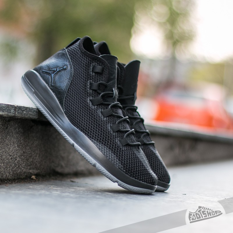best service 94acf 11b54 Jordan Reveal Premium Black  Black - Black - Wolf Grey