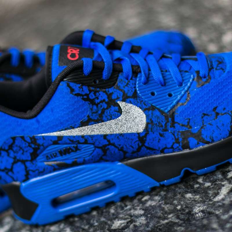 incredible prices popular brand huge discount Nike Air Max 90 CR7 FB (GS) Racer Blue/ Metallic Silver ...