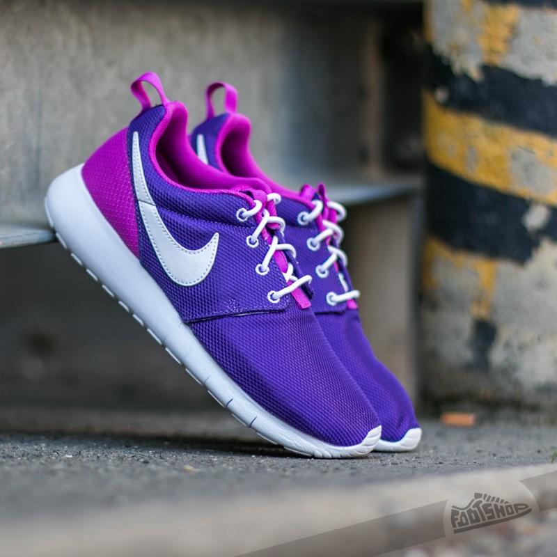 fe4bf59600bb ... new zealand nike roshe one gs court purple white hyper violet 18458  8cfac