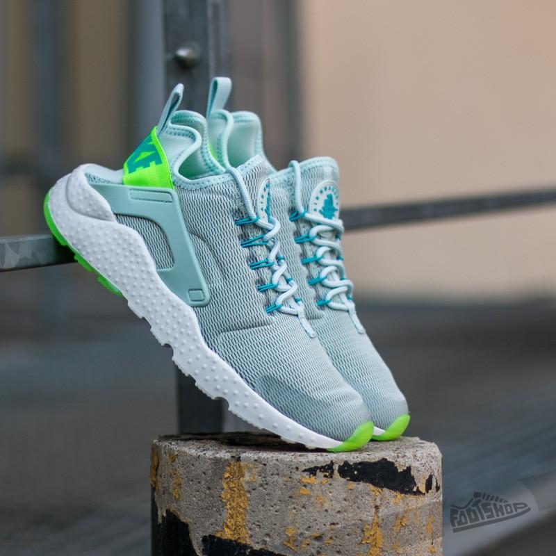 33df8333a569 Nike W Air Huarache Run Ultra. Fiberglass  Electric Green-Gamma Blue