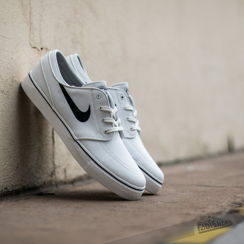 f2ea769843e0 Nike Zoom Stefan Janoski Canvas Summit White  Black