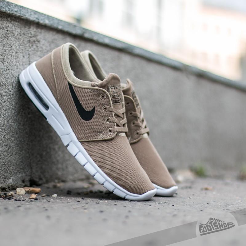 patio Creación Atrevimiento  Men's shoes Nike Stefan Janoski Max Khaki/ Black - White | Footshop