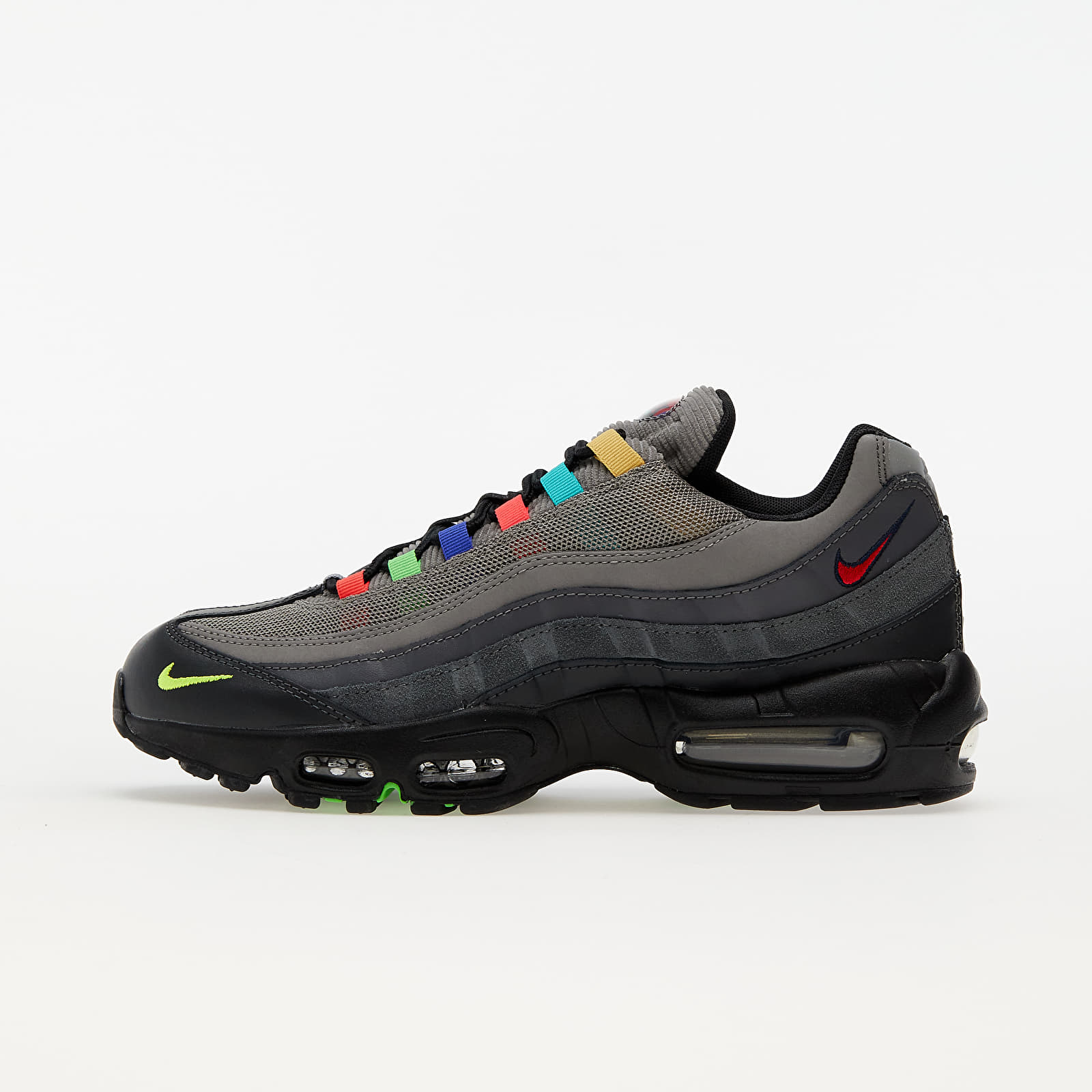 Nike Air Max 95 SE Light Charcoal/ University Red-Black EUR 45