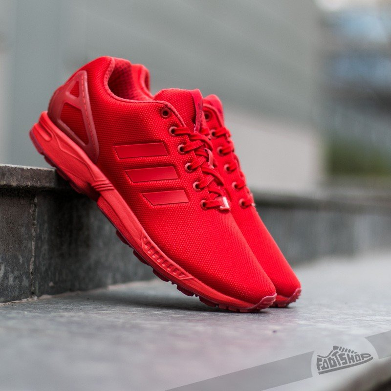 Men's shoes adidas ZX Flux Red/ Red/ Red