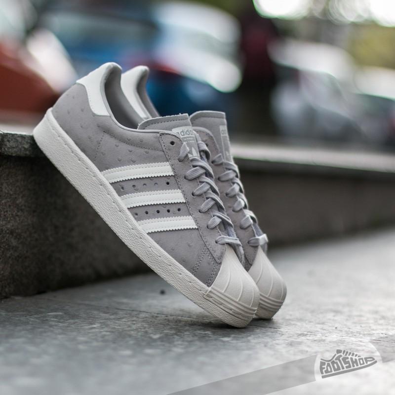 huge discount 945dd f8d88 adidas Superstar 80s W Clear Granite Off White Clear Granite