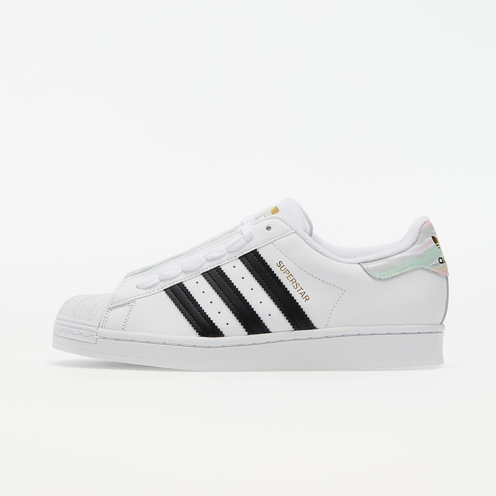 adidas Superstar W Ftw White/ Core Black/ Frozen Green EUR 39 1/3