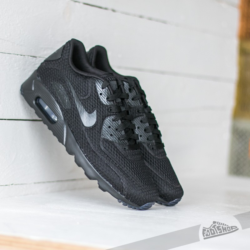 217e751c73 Nike Air Max 90 Ultra BR Black/ Black- Black- Total Crimson | Footshop