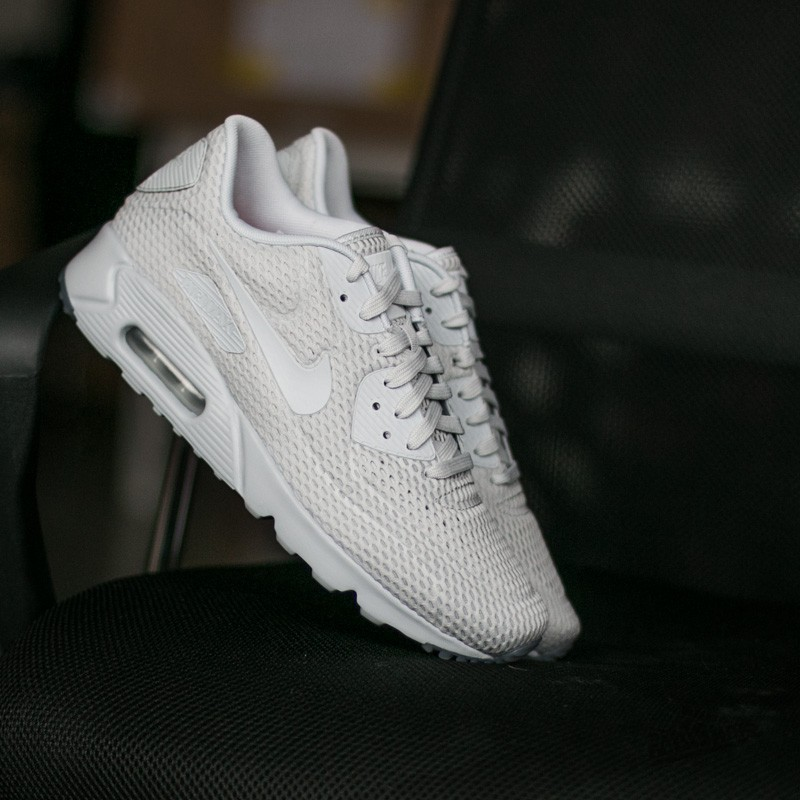 ca3ed02736 Nike Air Max 90 Ultra BR Pure Platinum/ Pure Platinum- Pure Platinum ...