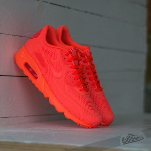 nike air max 90 ultra br all red
