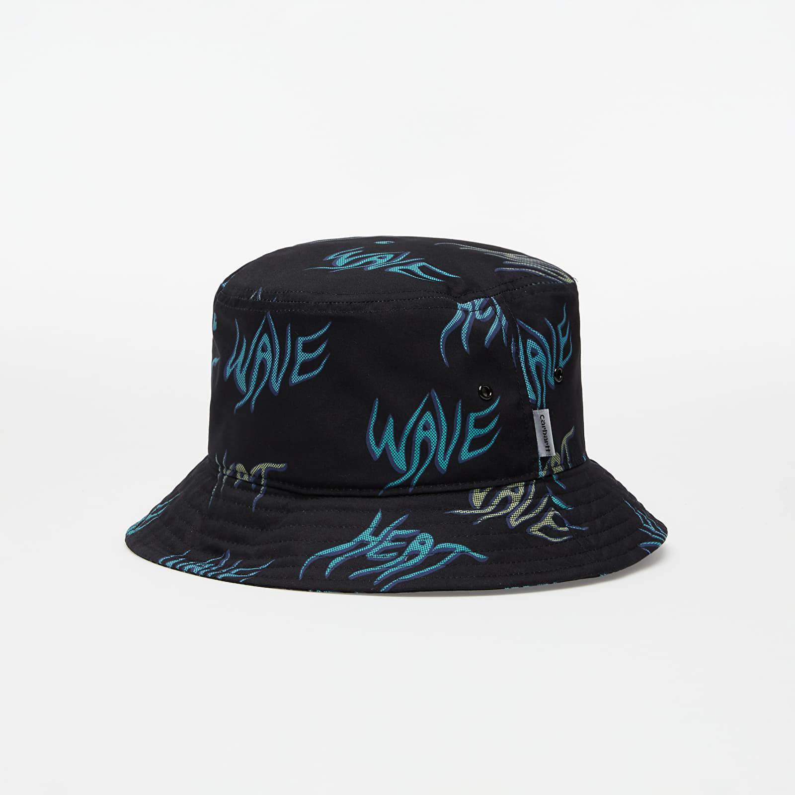 Carhartt WIP Heat Wave Bucket Hat Heat Wave Print/ Black M/L