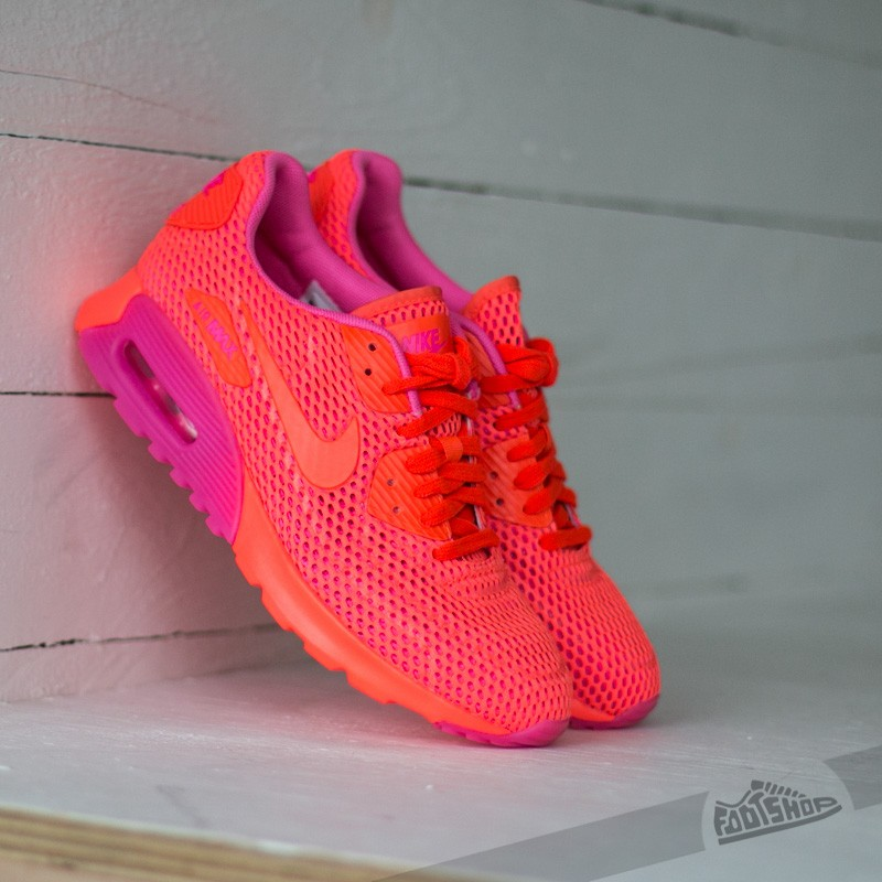 factory price cd42a 6e792 Nike Wmns Air Max 90 Ultra BR Total Crimson/ Pink Blast ...