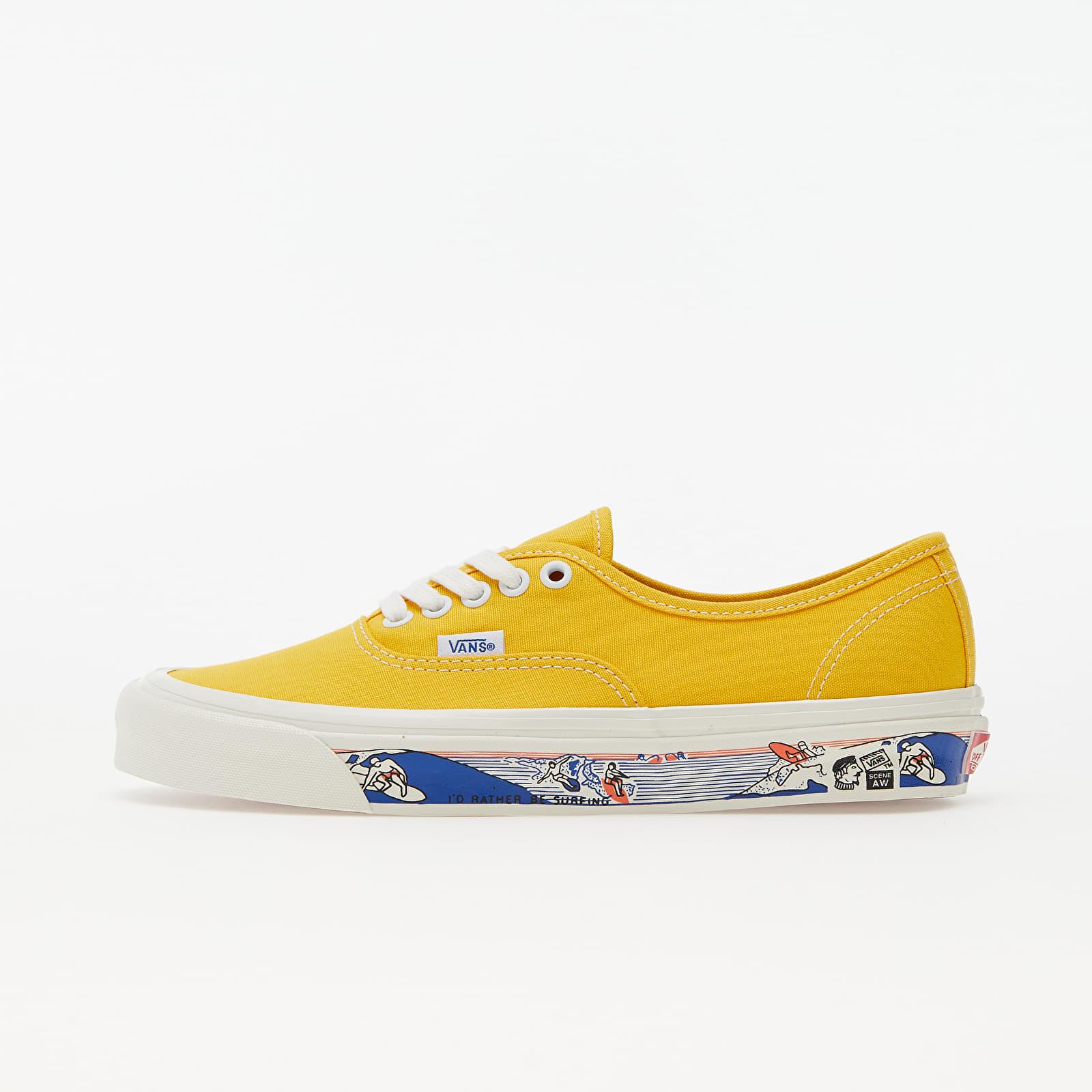 Vans Authentic 44 DX (Anaheim Factory) Yellow   Footshop