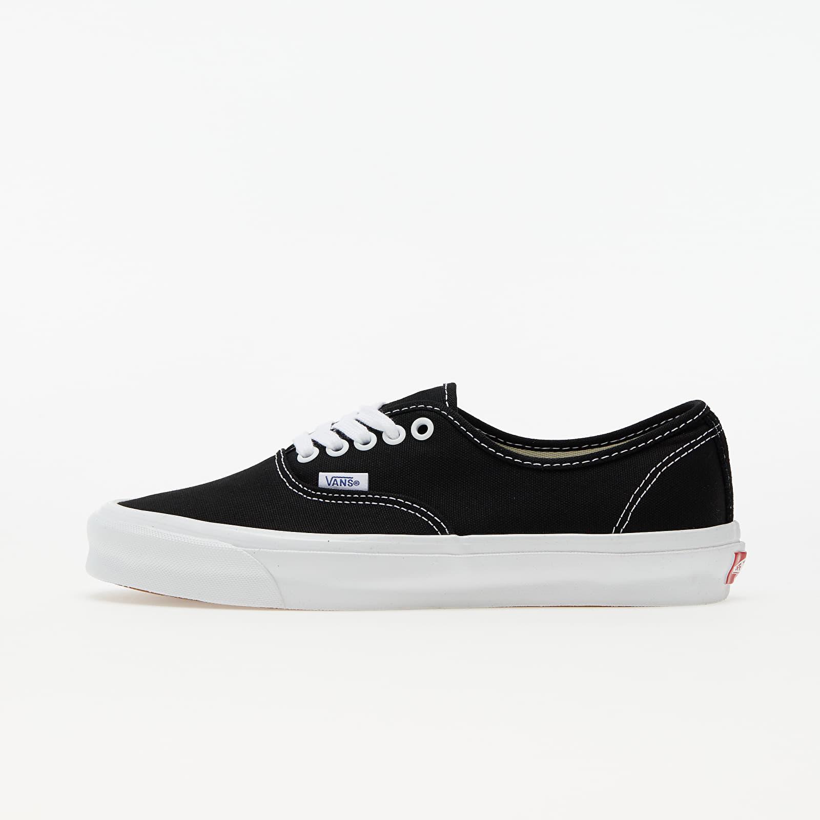 Vans Vault OG Authentic LX (Canvas) Black/ True White   Footshop