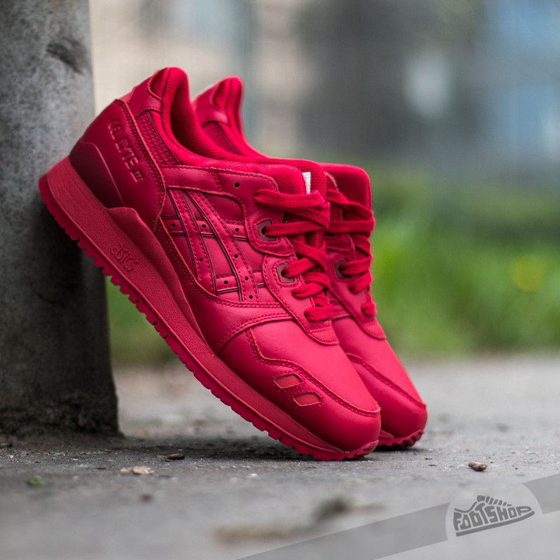 the latest 2baf1 c1318 Asics Gel-Lyte III Red/ Red | Footshop