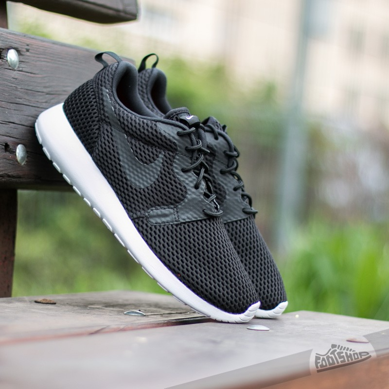 Instrumento Desviación carencia  Men's shoes Nike Roshe One Hyper BR Black/ Black-White
