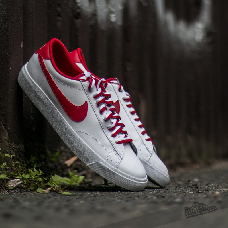 lápiz Descenso repentino atención  Men's shoes Nike Tennis Classic AC White/ Gym Red-Gum Med Brown