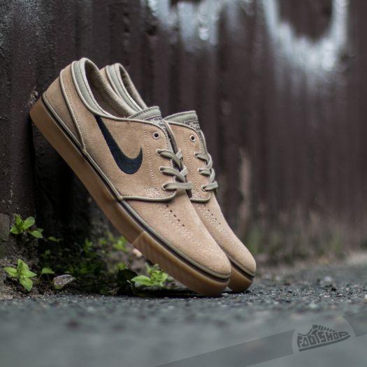 shoes Nike Zoom Stefan Janoski Khaki