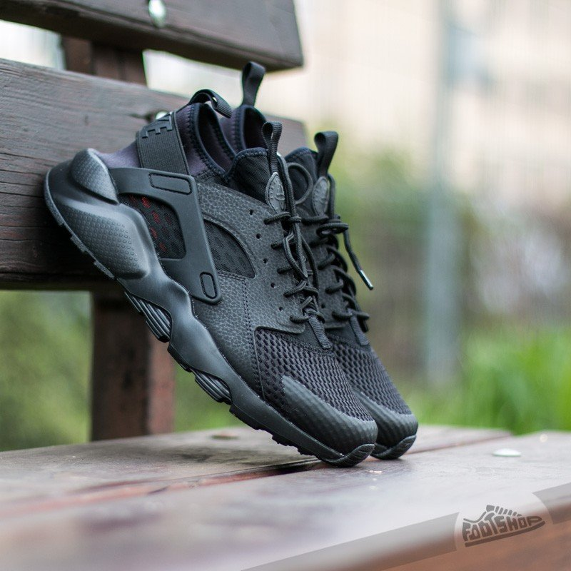 the latest 3a0d4 7833f Nike Air Huarache Run Ultra BR. Black  Black