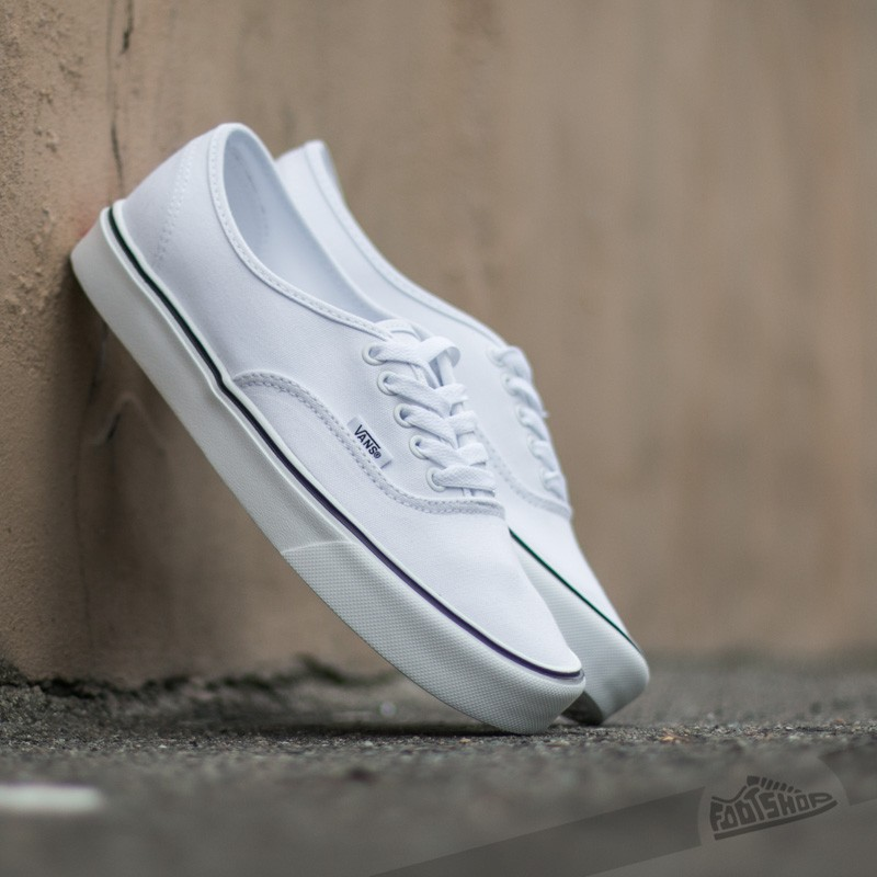 Vans Authentic Lite + (Canvas) True White | Footshop