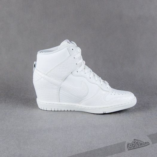 shoes Nike Wmns Dunk Sky Hi White-Cool Grey