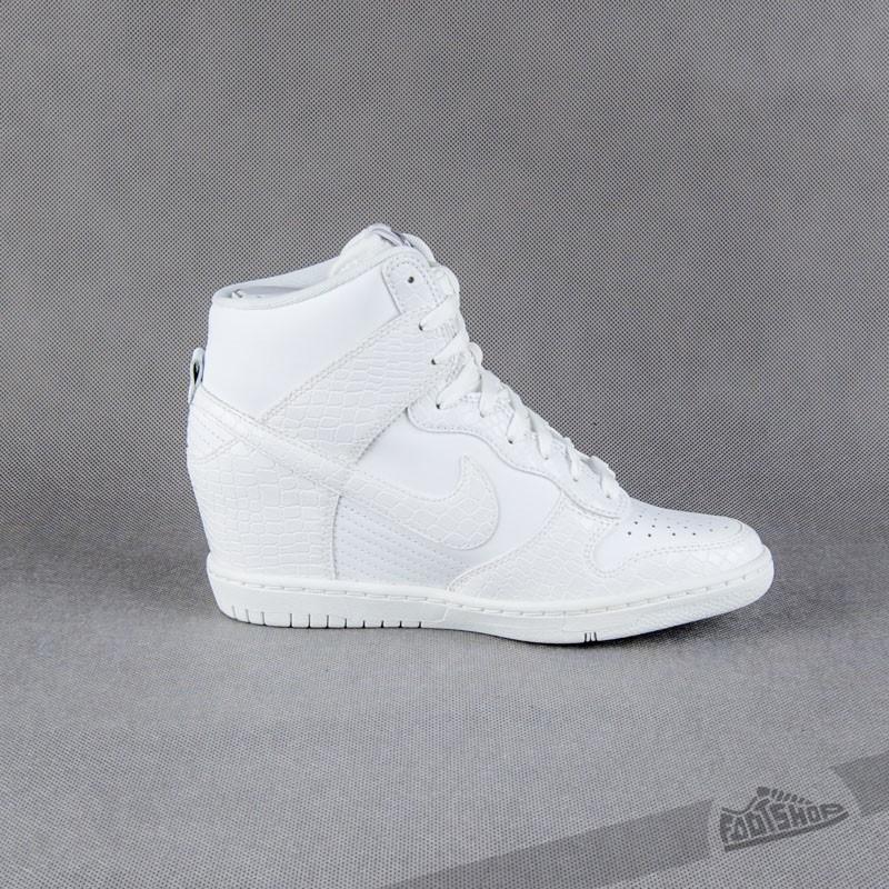 san francisco f34be e420f Nike Wmns Dunk Sky Hi White-Cool Grey