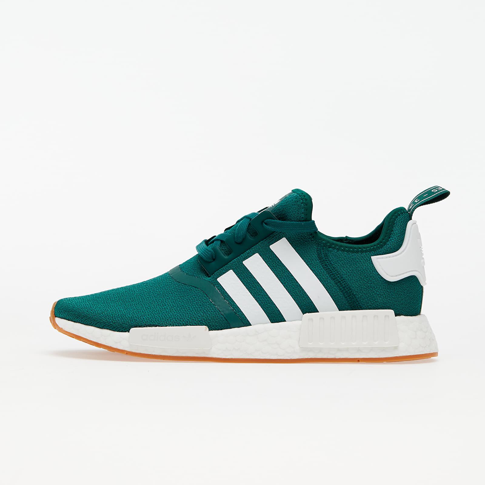 adidas NMD_R1 Core Green/ Ftw White/ Gum 3 EUR 42