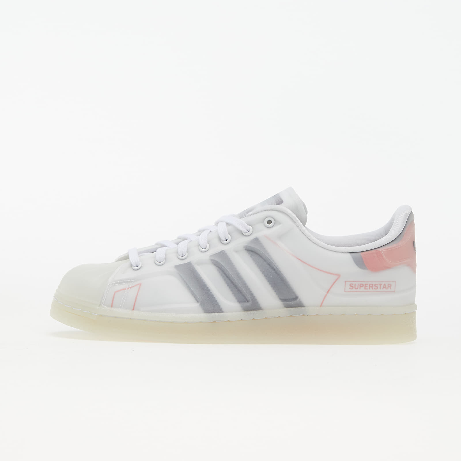 adidas Superstar Futureshell Ftw White/ Core Black/ Semi Solar Red EUR 43 1/3
