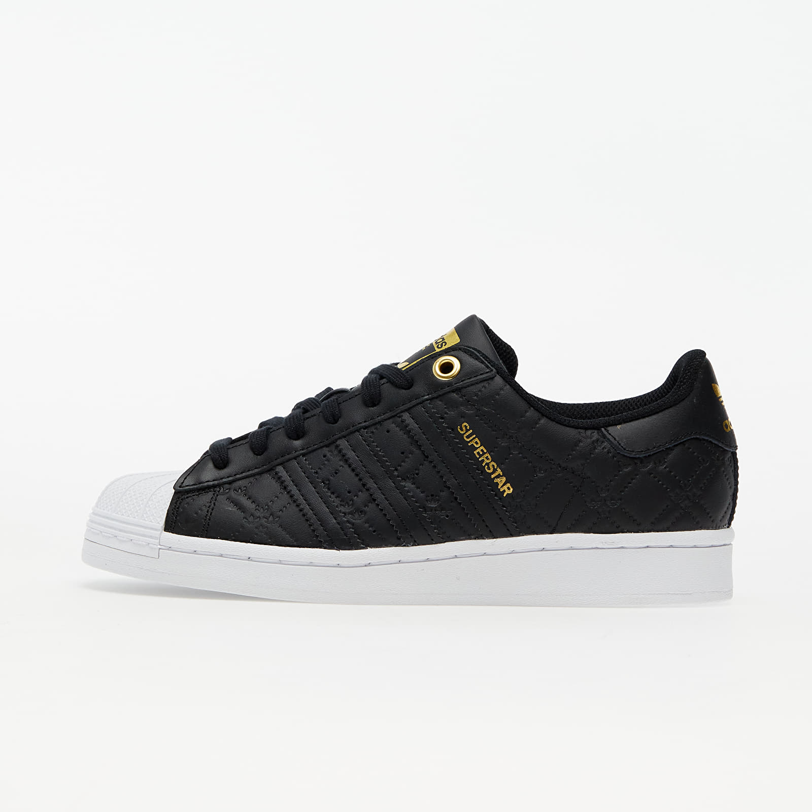 adidas Superstar W Core Black/ Gold Metalic/ Ftw White EUR 39 1/3