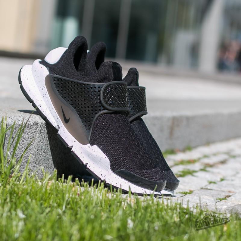 brand new 58deb 1d2a4 Nike Sock Dart Se Black  Black-White