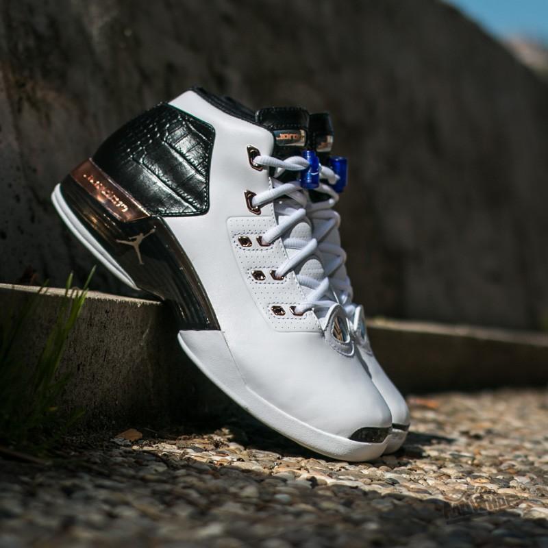 ff3103ea402736 Air Jordan 17 + Retro White  Metalic
