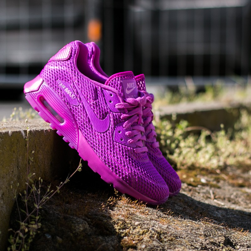 on sale ce726 62090 Nike Wmns Air Max 90 Ultra BR Hyper Violet  Viola