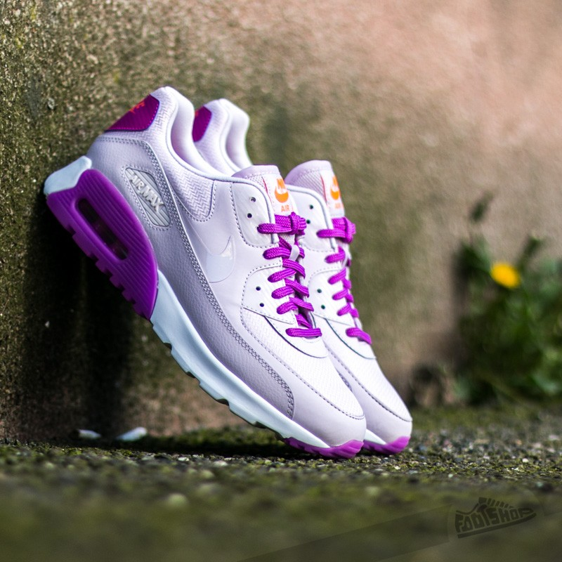 contrabando maleta O después  Women's shoes Nike W Air Max 90 Ultra Essential Bleached Lilac / Bleached  Lilac - Hyper Volt