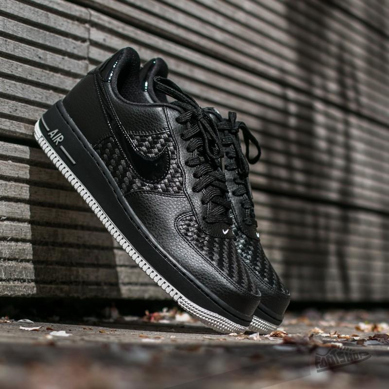 Nike Air Force 1 ´07 LV8 Black  Black- Summit White- Chrome ... 2ed97083214a